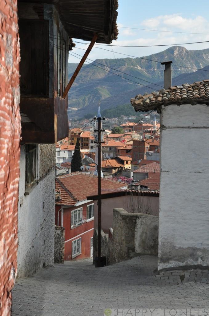 buldan, het dorp van de hamamdoeken