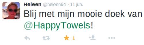 Heleen is blij