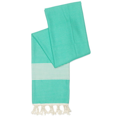 Hamamdoek Happy Towels turquoise