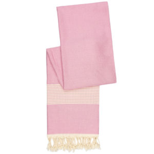 Hamamdoek bamboe | pastel roze