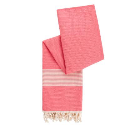 hamamdoek roze bamboe