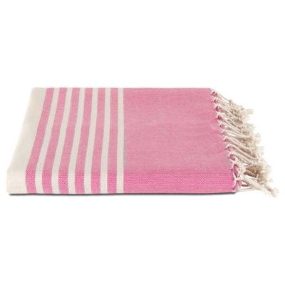 Hamamdoek biokatoen | fuchsia roze