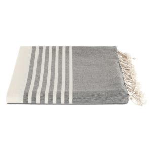 Hamamdoek biokatoen | leisteen grijs