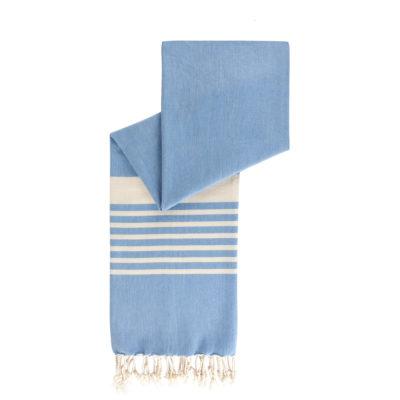 hamamdoek lichtblauw