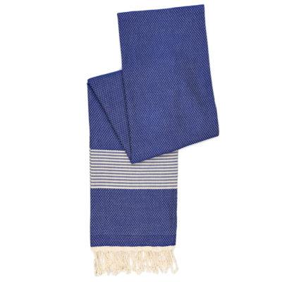 Hamamdoek bamboe, donkerblauw