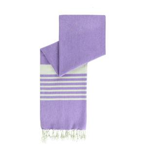 Hamamdoek biokatoen   cool purple