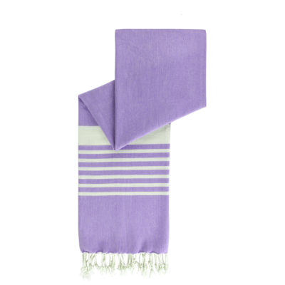 Hamamdoek biokatoen | cool purple