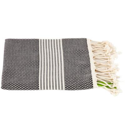 Haardroogdoek | bamboe | grijs