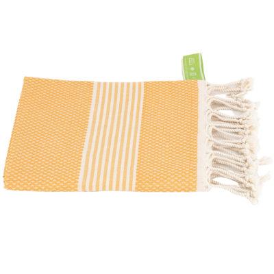 Haardroogdoek | bamboe | mango geel