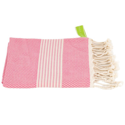 Haardroogdoek | bamboe | roze