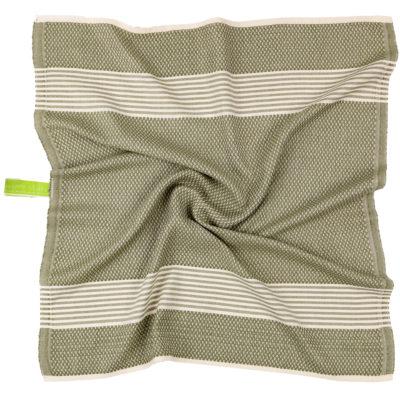 Keukenhanddoek | bamboe olijfgroen | prijs per twee