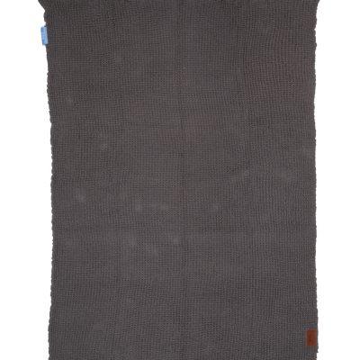 Sprei | grijs | 100% katoen | 220 x 150 cm
