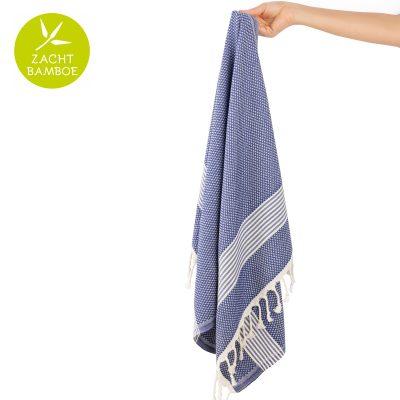 Badhanddoek | bamboe | donkerblauw
