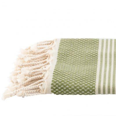 Badhanddoek | bamboe | olijfgroen
