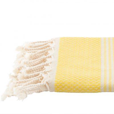 Badhanddoek | bamboe | geel