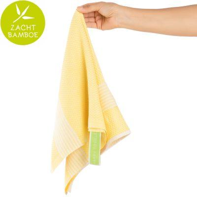 Keukenhanddoek | bamboe geel | prijs per twee